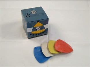 B00616 Tailors Dressmaking Chalk Triangles - 10pcs - Choice of Colour