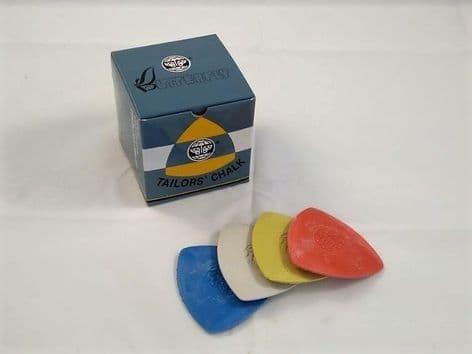 B00616 Tailors Dressmaking Chalk Triangles - 10pcs - Choice of Colour