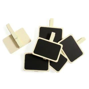 B1905 Board Clip: Small Rectangular - 50 x 35mm - Choice of Colour