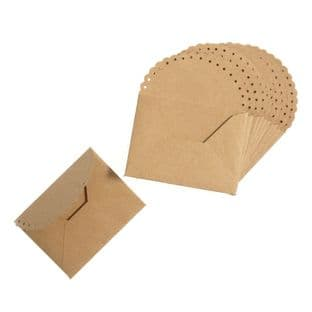 B2169 Envelopes: Small Scalloped Edge: Pack of 12