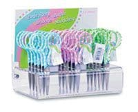 B4819 Counter Top Display: Embroidery Scissors: Polka Dot: 18 Piece