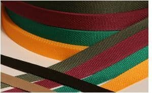 B512 Polypropylene Webbing/Strapping: 25mm - Choice of Colours