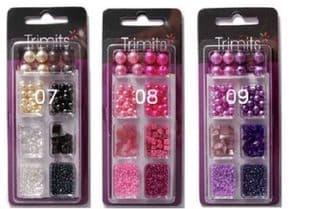 Beads: Creative Bead Kit: Full Colour Range 3 Packs