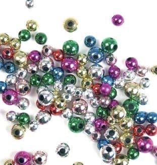CF159 Beads: Plastic: Assorted: 30g
