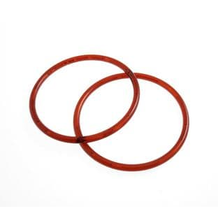 CFH1\AMB Bag Handles: Round: 13cm: Amber