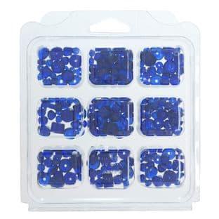 cx29 Glass Beads: Assorted: 3 Packs - Full Colour Range