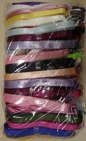 E00155 7-15mm Ribbon Assortment Bundle 100 x 3m Hanks