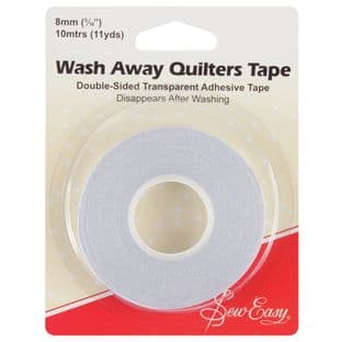 ER787 Wash-Away Quilters Tape: 10m x 8mm
