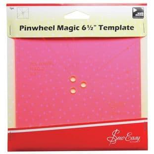 ERGG05.PNK Template: Pinwheel: 6.5in