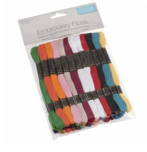 Floss 1Stranded Cotton Bright Colours: