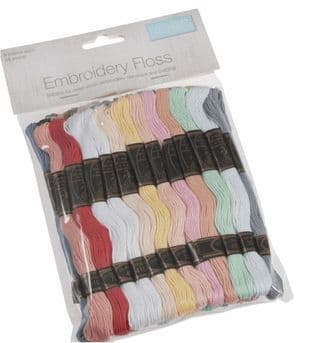 Floss 2Pastel Colours: 36 Skeins