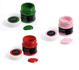 FP50 Fabric Paint: Pots: 3 x 50ml - Full Colour Range