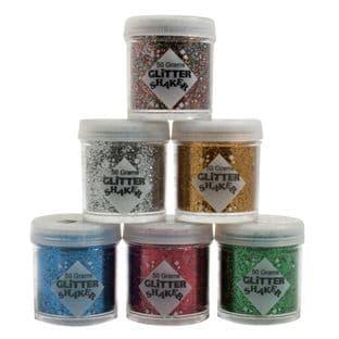 Glitter Tubs: 50g - Full Colour Range