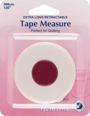 H253.XL Tape Measure: Retractable - 300cm