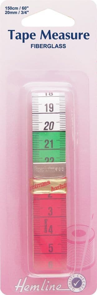 H266 Tape Measure: Coloured - 150cm