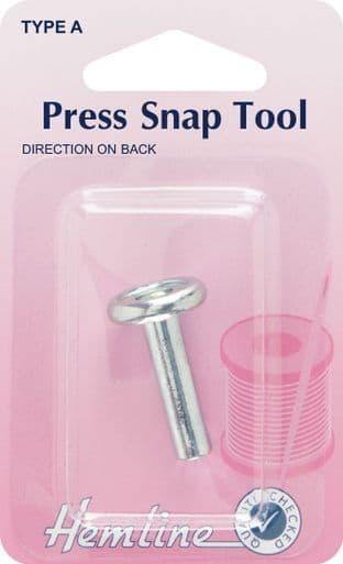H446 Fashion Snap Tool: Press Snap