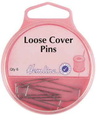 H713 Loose Cover Pins: Nickel - 32mm, 6pcs