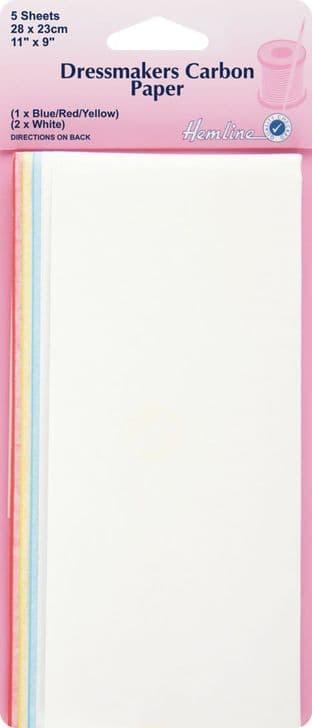 H753 Dressmakers Carbon Paper: 23 x 28cm