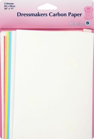 H753.L Dressmakers Carbon Paper: 70 x 24cm