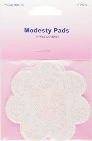 H777 Flower-Shaped Modesty Pads - 2 pairs