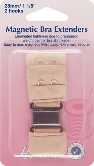 H777.28.N Magnetic Bra Extender: Nude - 28mm