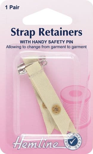 H788.S Shoulder Strap Retainer with Safety Pin: Skin