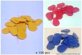 J380 Large Needle Threaders with Plastic Handle - 100 pcs BULK (1)