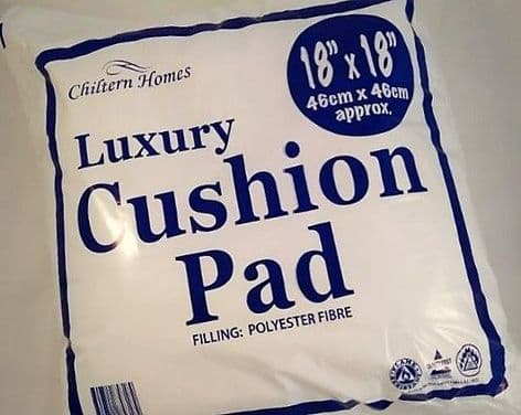 K00087  Luxury Cushion Fill/Pad - 18