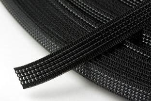 N4332.B Uncovered Polyester Boning - 40m x 8mm: Black