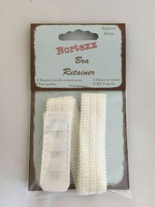 NBR/1 Bra Retainer Strap: White - 43cm