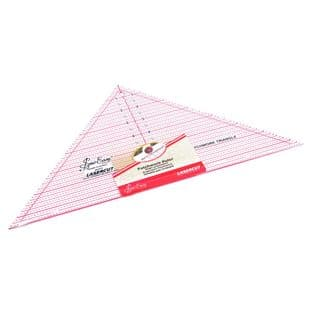 NL4172 Quilting Rule: 90 Degree Triangle: 7.5 x 15.5 inch