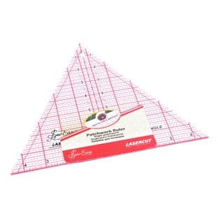 NL4174 Quilting Rule: 60 Degree Triangle: 8 x 9.25 inch