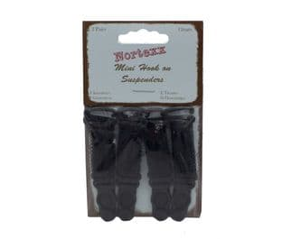 NSS/9 Mini Hook-on Suspenders - 2 pairs - Choice of Colour