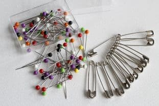 Pins & Safety Pins