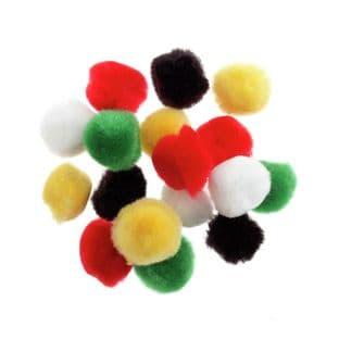 Pom Poms: 1.3cm (1/2in) - Full Colour Range