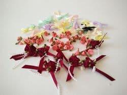 Ribbon Roses & Bows