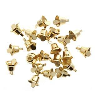 TC808G Bells: Liberty: 8mm: Gold: 100 Pack