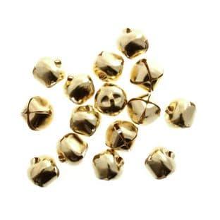 TC910G Bells: Jingle: 10mm: Gold: 100 Pack