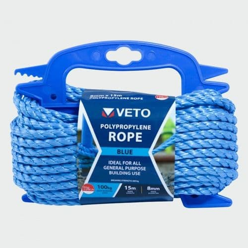 Blue Poly Rope - Winder BR815W