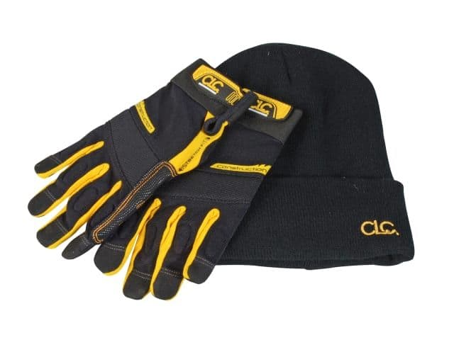CLC Flex-Grip Work Gloves and Beanie hat