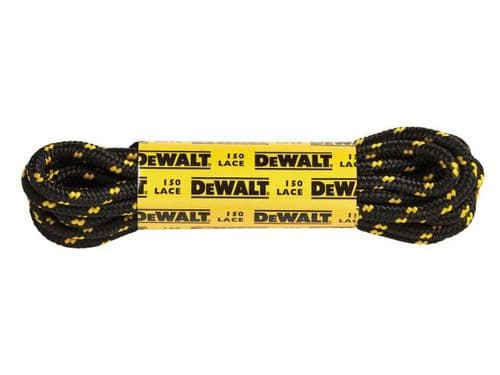 Dewalt Polyester Cotton Boot Laces 150cm (1 Pair)