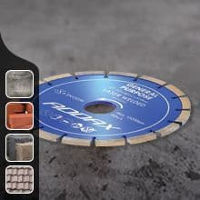General Purpose Laser Welded Diamond Discs
