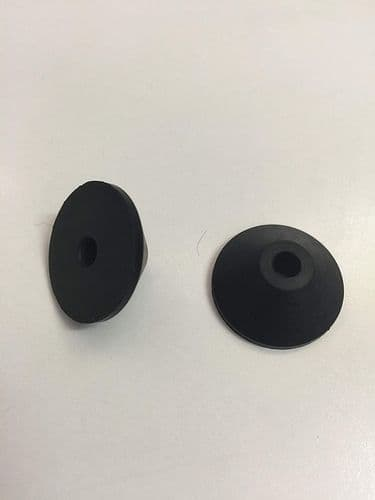 Handyfix Universal Rubber Washer to Secure Loose Toilet Seats (2 Washers)