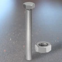 Hex Set & Hex Nut- Stainless Steel