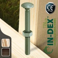 In-Dex External Carriage Bolts