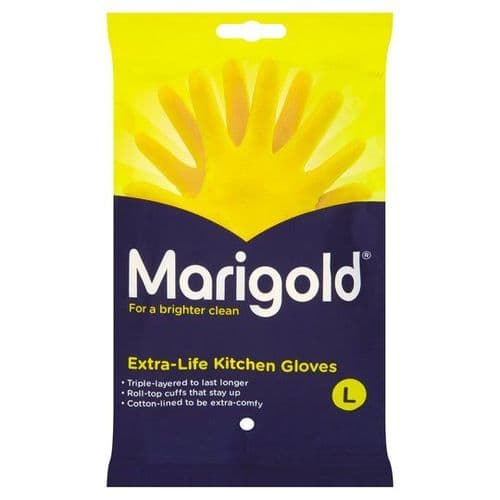 MARIGOLD EXTRA-LIFE KITCHEN YELLOW GLOVES
