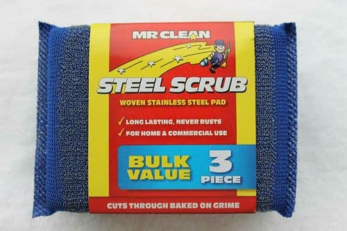 Mr Clean Tuff Mate Steel Scrub