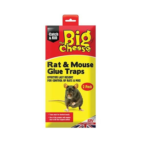 The Big Cheese Rat & Mouse Glue Traps