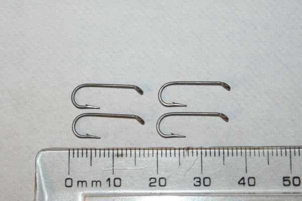 Fly Tying Hooks 100 Eagle Claw Performance L/S Nymph hooks #12 Top Quality Hooks