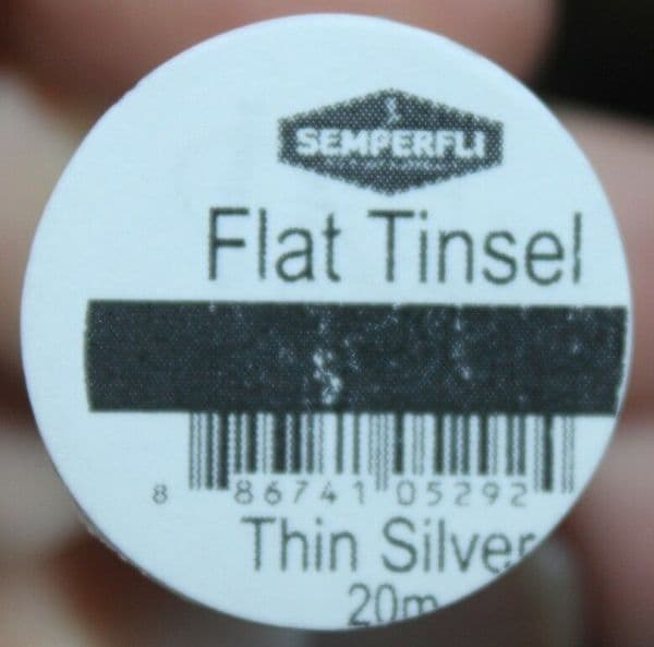 Fly Tying Semperfli Mirror Tinsels collection gold silver S,M,L